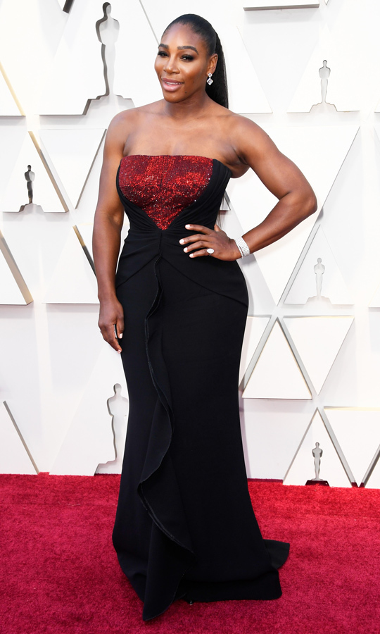 Serena Williams in Armani Privé