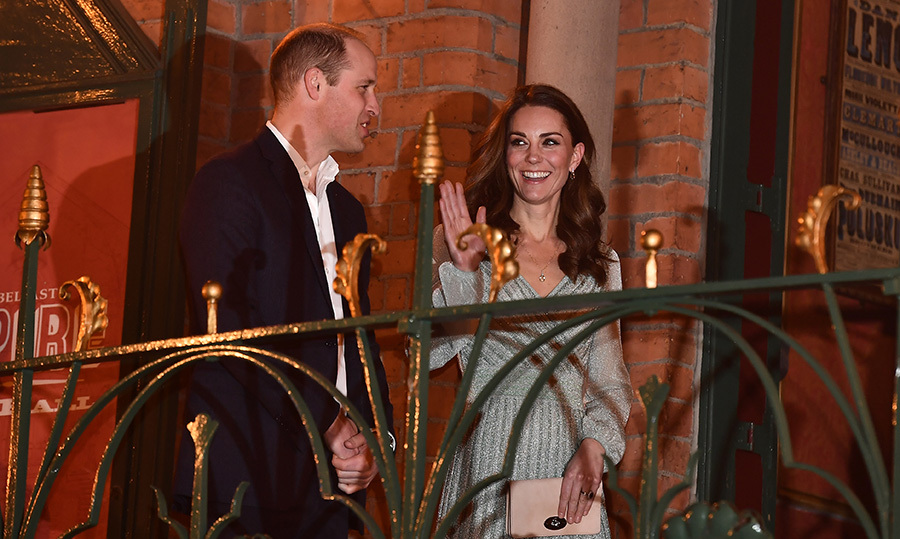William and Kate arrived at the Belfast Empire Hall looking every inch the dapper duo they are! The prince looked handsome as ever in a suit.
