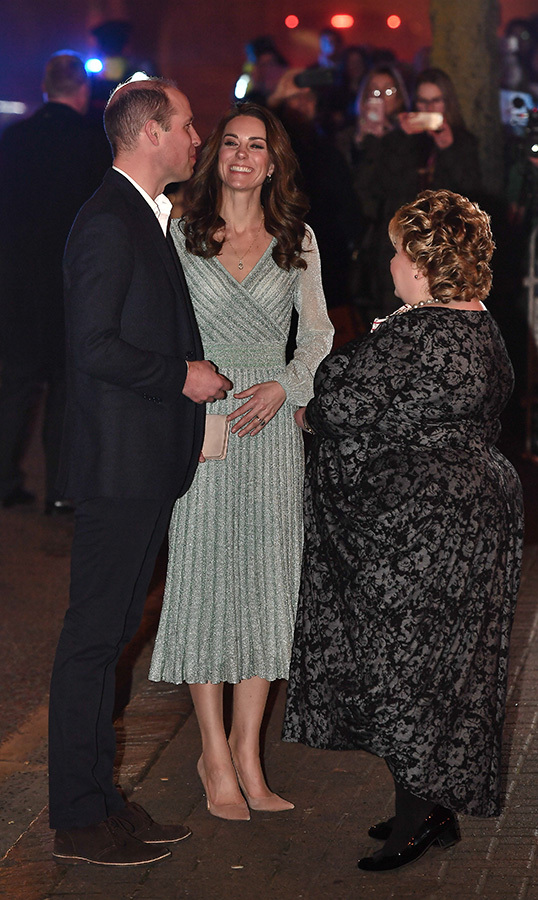 After a fun-filled day out in nature, William and Kate stopped by the Belfast Music Hall for an evening out.