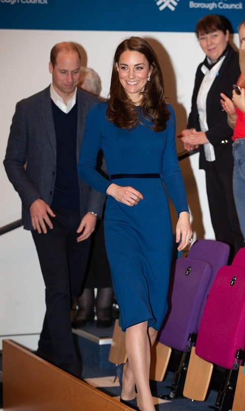 William and Kate arrived at CineMagic.