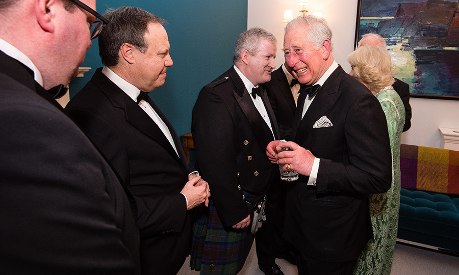 On March 6, Prince Charles laughed with U.K. MPs Conor McGinn, Nigel Dodds and Ian Blackford at a dinner to mark St Patrick's Day and celebrate U.K.-Irish relations.