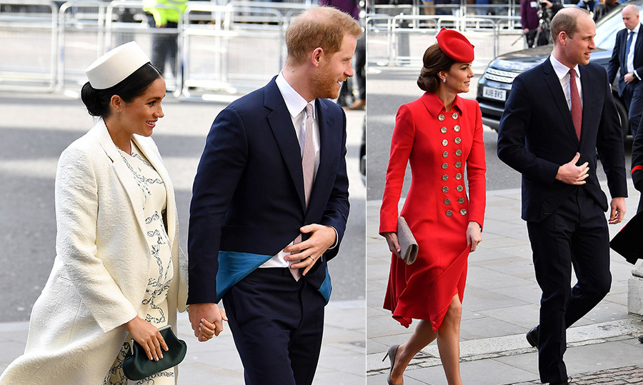 "March 11, 2019 marks the 70th anniversary of the modern Commonwealth, and members of <a href=""https://ca.hellomagazine.com/tags/0/royal-family""><strong>the British Royal Family</strong></a> attended the Commonwealth Day Services to celebrate!