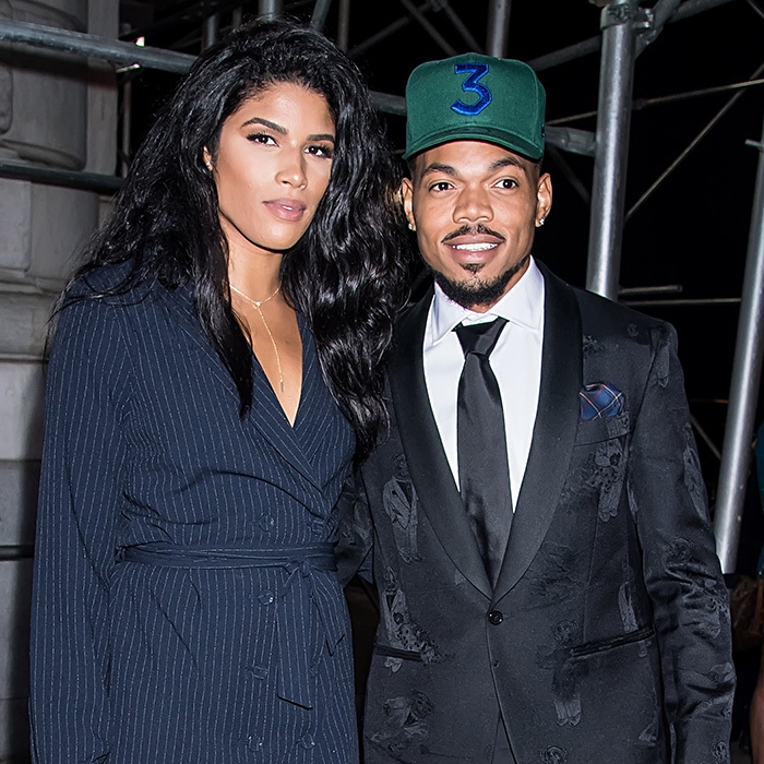 <h2>Chance the Rapper and Kirsten Corley</h2>