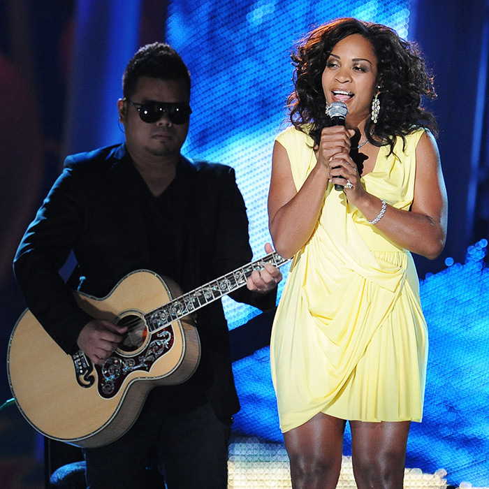 "Divine Brown brought some sunshine to the stage when she performed soulful renditions of her songs. Later that evening, she took home the JUNO for R&B/Soul Recording of the Year for her album, <em>The Love Chronicles</em>. She was also nominated for Single of the Year for ""Lay It On the Line.""