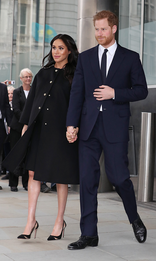 "<STRONG><a href=""https://ca.hellomagazine.com/tags/0/meghan-markle"">Duchess Meghan</a></strong> and <strong><a href=""https://ca.hellomagazine.com/tags/0/prince-harry"">Prince Harry</a></strong> made a surprise appearance at New Zealand House in London on March 19, where they paid tribute to the victims of the Christchurch terror attacks and signed a book of condolences. 