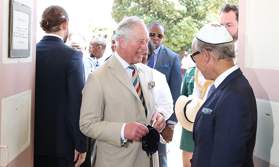 The Prince of Wales also visited the Nidhe synagogue in Bridgetown, where he met with members of the city's Jewish community. Jewish people around the world were set to mark the celebration of Purim at sundown on March 20. 