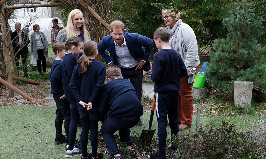 The duke enlisted a group of students for help in an effort to keep the planet green!