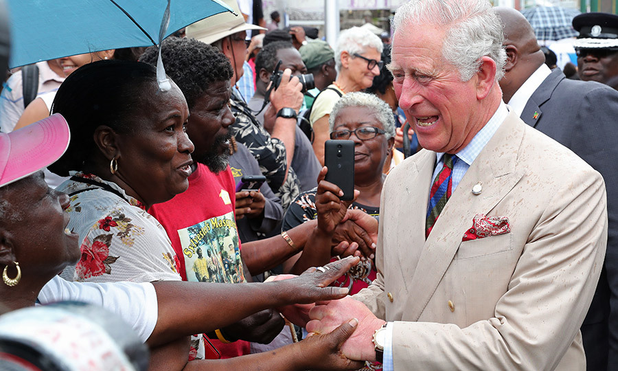 "Thursday (March 21) saw the <A href=""https://ca.hellomagazine.com/tags/0/prince-charles""><strong>Duke</a></strong> and <strong><a href=""https://ca.hellomagazine.com/tags/0/duchess-of-cornwall"">Duchess of Cornwall</a></strong> touch down in St. Kitts and Nevis, where they were greeted by yet another adoring crowd in the capital, Basseterre. 