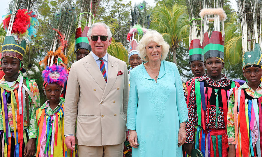 Part of the very colourful visit included a special performance by local dancers! 
