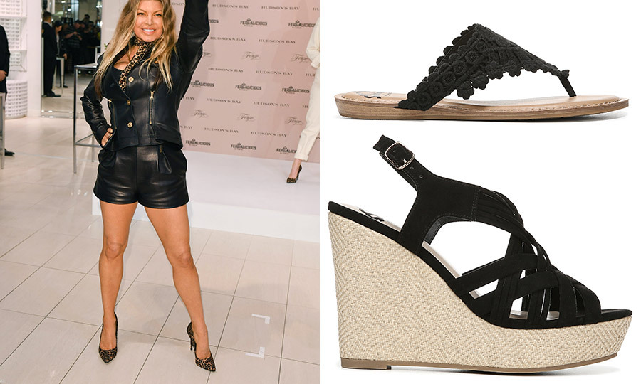 Fashion chameleon Fergie chats about her new line of footwear – and the royals!