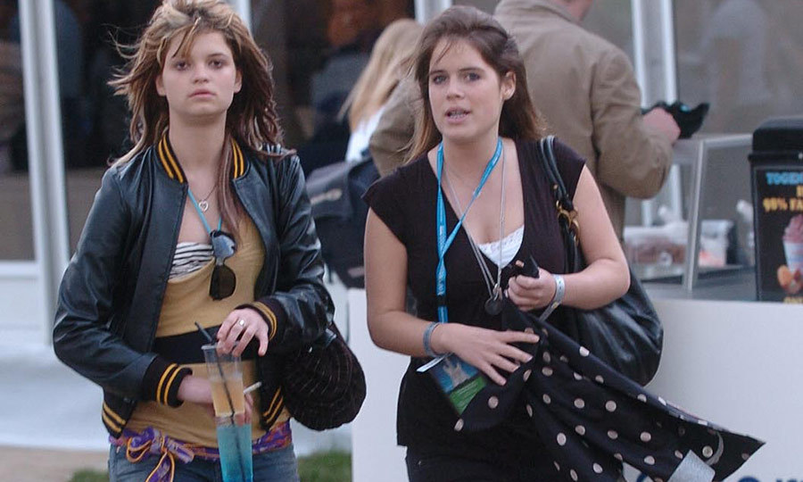 Eugenie had a big day out at the O Wireless Festival with good friend Pixie Geldof in 2006. The two have been friends since they were teenagers, and Pixie was one of the guests at Eugenie's wedding in 2018. 
