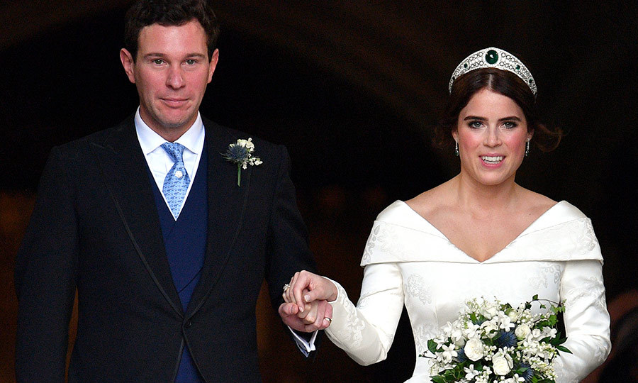 Last October, after 7 years of dating, Eugenie married longtime beau Jack Brooksbank. It was a fairytale ceremony fit for a princess, and she certainly looked the part!