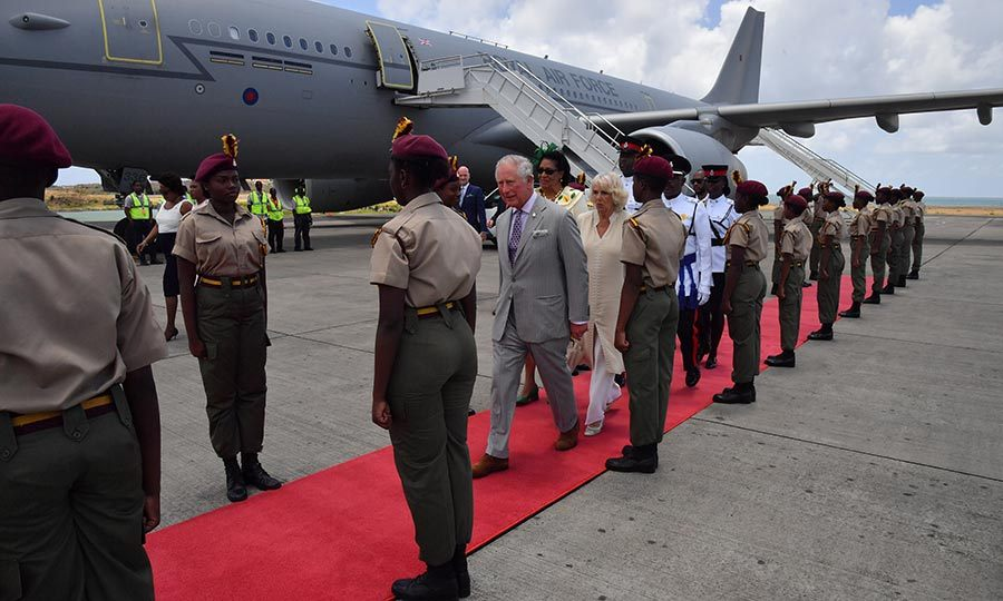 On Saturday (March 23), Charles and Camilla said goodbye to St. Kitts and Nevis and travelled to Grenada. 