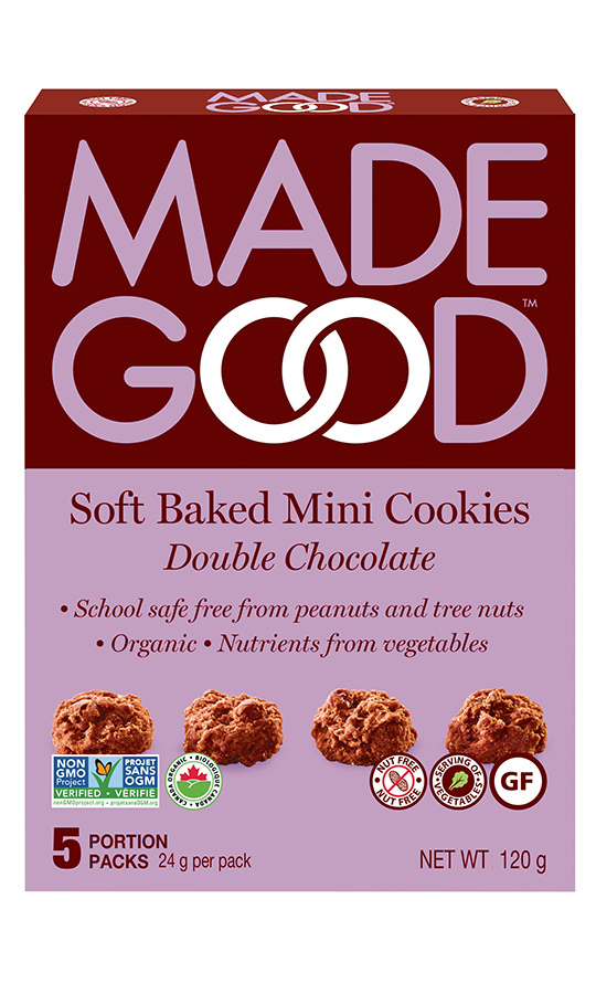 <h2>MadeGood Double Chocolate Soft Baked Mini Cookies, $4.99</h2>