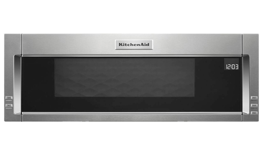 <h2>KitchenAid 1000-Watt Low Profile Microwave Hood Combination YKMLS311HS, $949.99</h2>