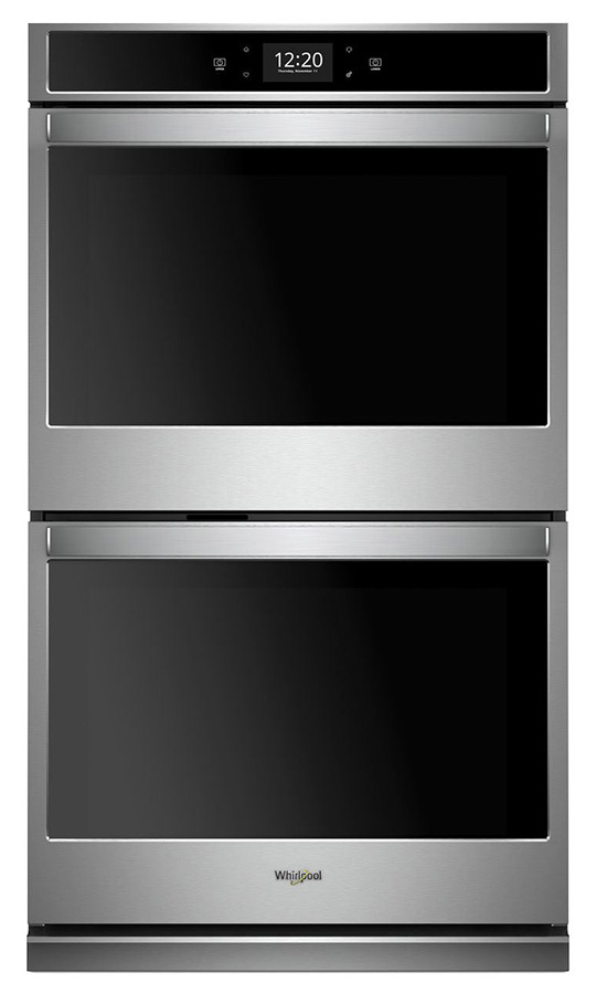 <h2>Whirlpool 10.0 cu. ft. Smart Double Wall Oven with True Convection Cooking (W0D97EC0H2), $3849.99</h2>
