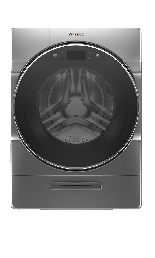 <h2>Whirlpool 5.0 cu. ft. Smart Front Load Waher with Load & Go XL Plus Dispenser, 40 Loads (MFW9620HC), $1,699.99</h2>