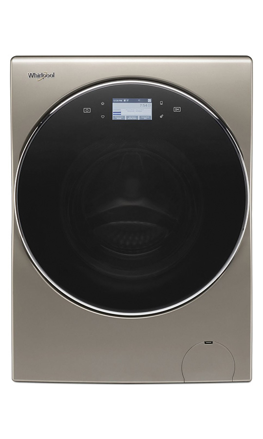 <h2>Whirlpool 3.2 cu. ft. I.E.C. Smart All-In-One Washer and Dryer (YWFC8090GX), $2,599.99</h2>