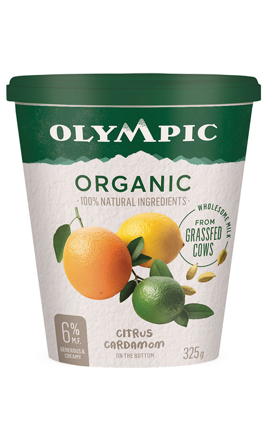 <h2>Olympic Organic Grassfed 6.5% M.F. 325G, $4.69</h2>