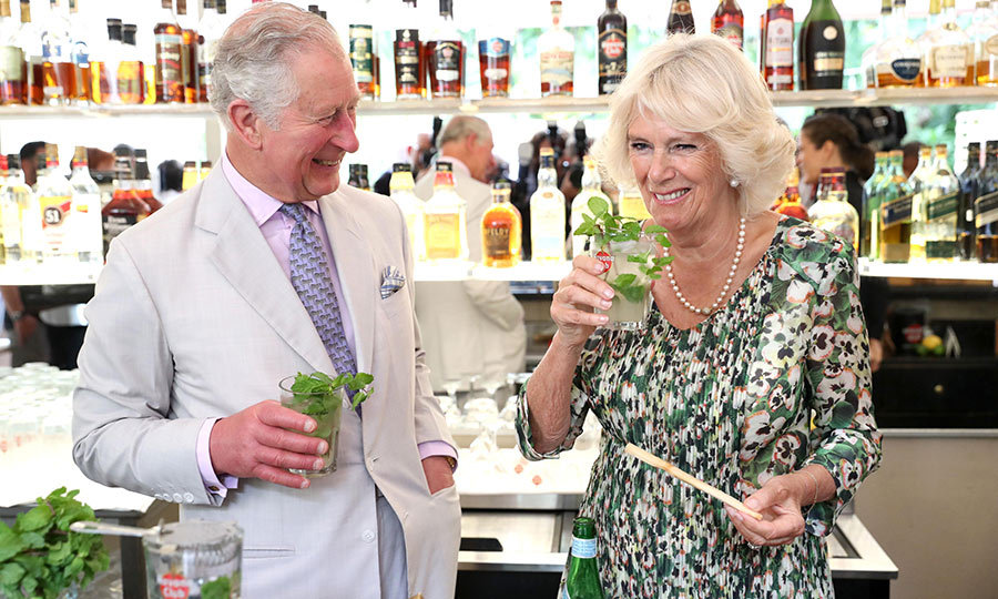 "Charles and <strong><a href=""https://ca.hellomagazine.com/tags/0/duchess-of-cornwall"">Duchess Camilla</a></strong> then enjoyed mojitos. They look like they were delicious!