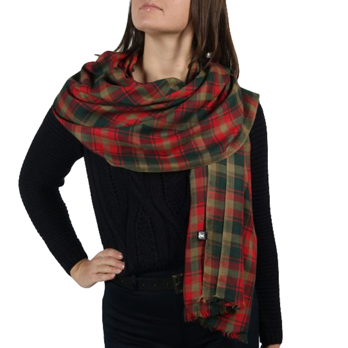 <h2>Maple Leaf tartan scarf</h2>