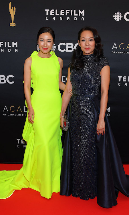 <em>Blood and Water</em> co-stars Selena Lee and Steph Song