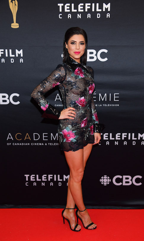 <em>Private Eyes</em> actress Cindy Sampson