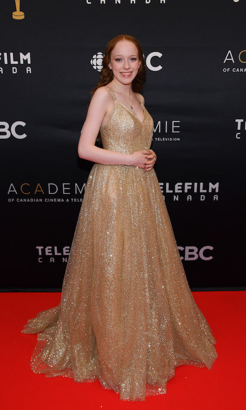 <em>Anne with an E</em> star Amybeth McNulty