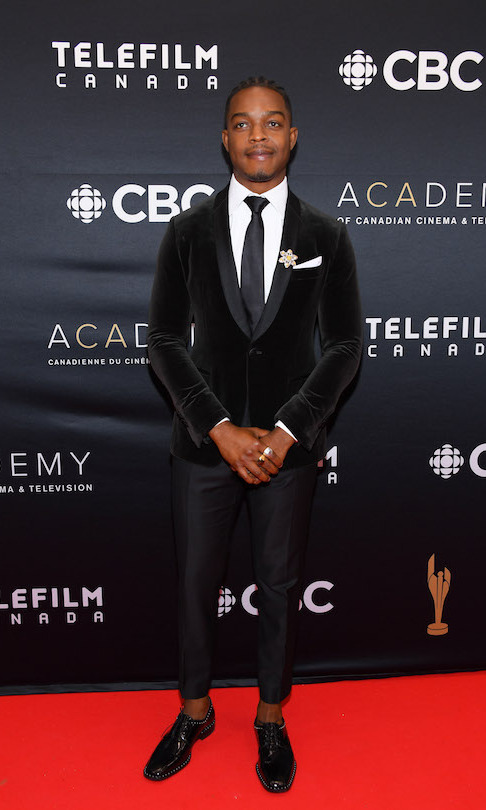 Radius Award winner Stephan James