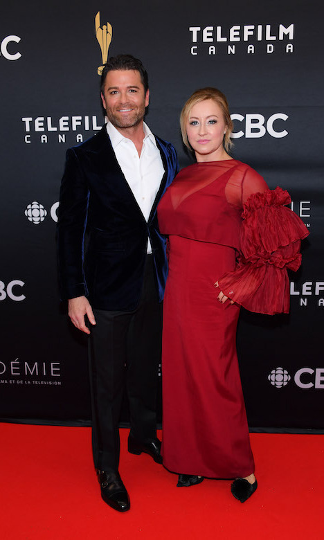 "<em>Murdoch Mysteries</em> star <a href=""https://ca.hellomagazine.com/tags/0/yannick-bisson""><strong>Yannick Bisson</a></strong> and wife, Chantelle Bisson