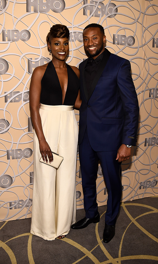 <h2>Issa Rae and Louis Diame</h2>