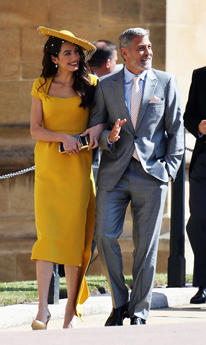 <h2>The Clooney twins</h2>