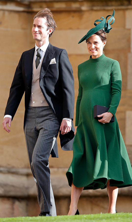 <h2>Pippa Middleton and James Matthews's son</h2>