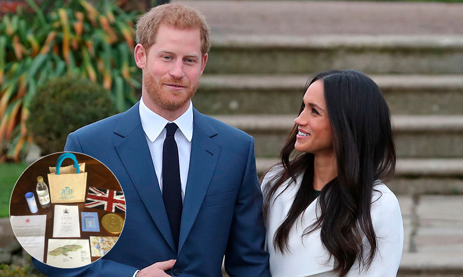 7385a38c6 Gift bags from Prince Harry and Meghan's royal wedding open for bidding on  eBay