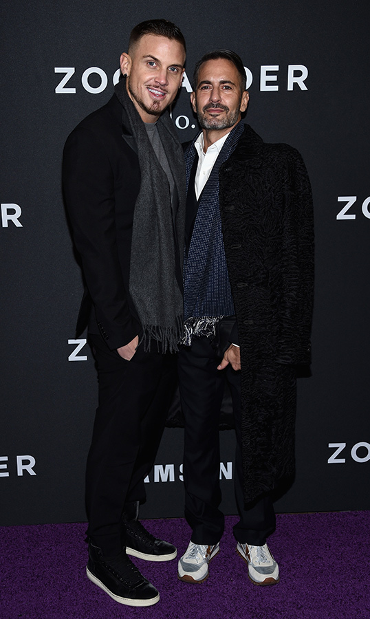 <h2>Charly DeFrancesco and Marc Jacobs</h2>