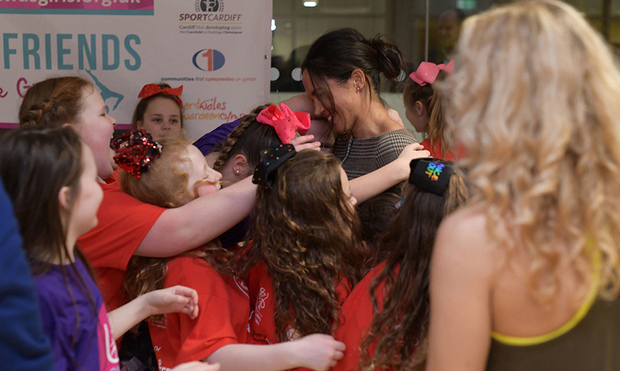 Trust Prince Harry to bring some spontaneity to a royal outing! While he and Duchess Meghan were visiting Cardiff in January 2018, the cheeky prince encouraged a group of children to mob Meghan with hugs.