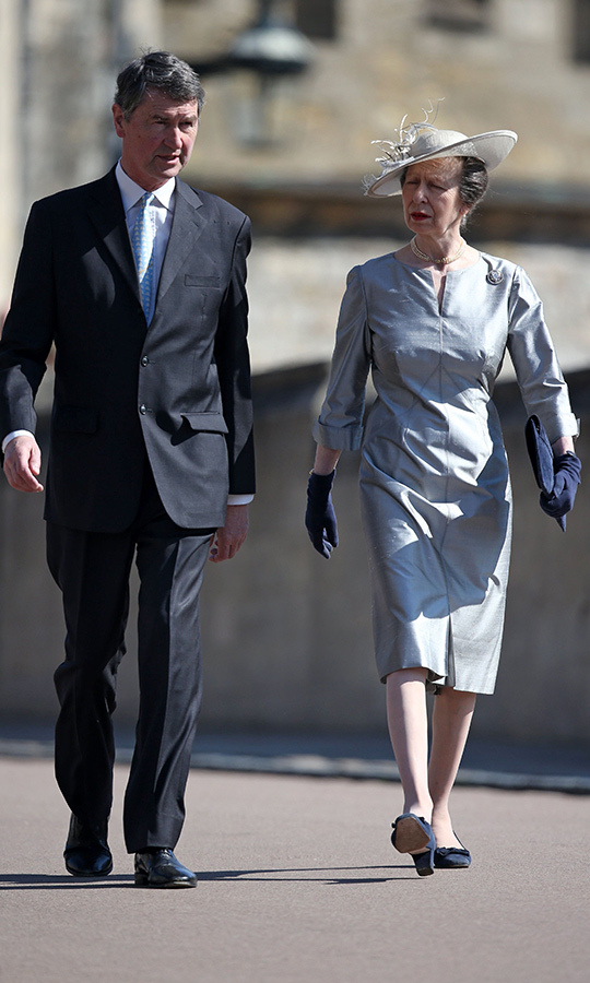 "<a href=""https://ca.hellomagazine.com/tags/0/princess-anne""><strong>Princess Anne</a></strong> arrived with husband Vice Admiral Sir <strong>Timothy Laurence</strong>, who is a retired British naval officer and the former Equerry to the Queen.