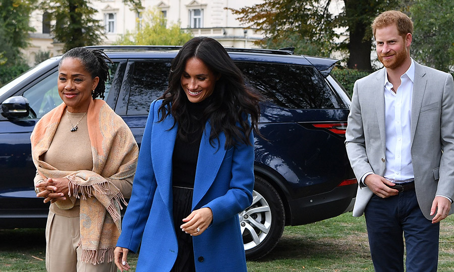 Meghan Markle's mother Doria R...