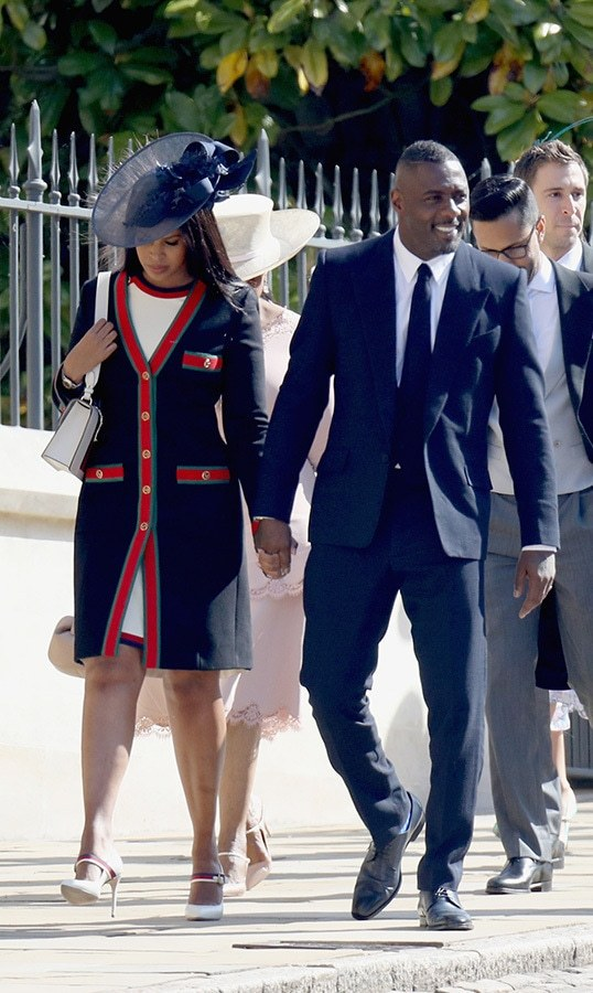 <h2>Idris Elba and Sabrina Dhowre</h2>