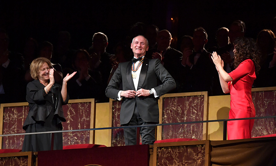 "Acting maverick <strong>Colm Feore</strong> was tickled pink by his tribute. According to the <I><a href=""https://ottawacitizen.com/entertainment/local-arts/ggs-performing-arts-awards-jann-arden-emily-haines-tpoh-surprise-guests"">Ottawa Citizen</a></i>, each laureate received a speech from friends and colleagues and a short film done by the National Film Board, in addition to their aforementioned musical tributes."