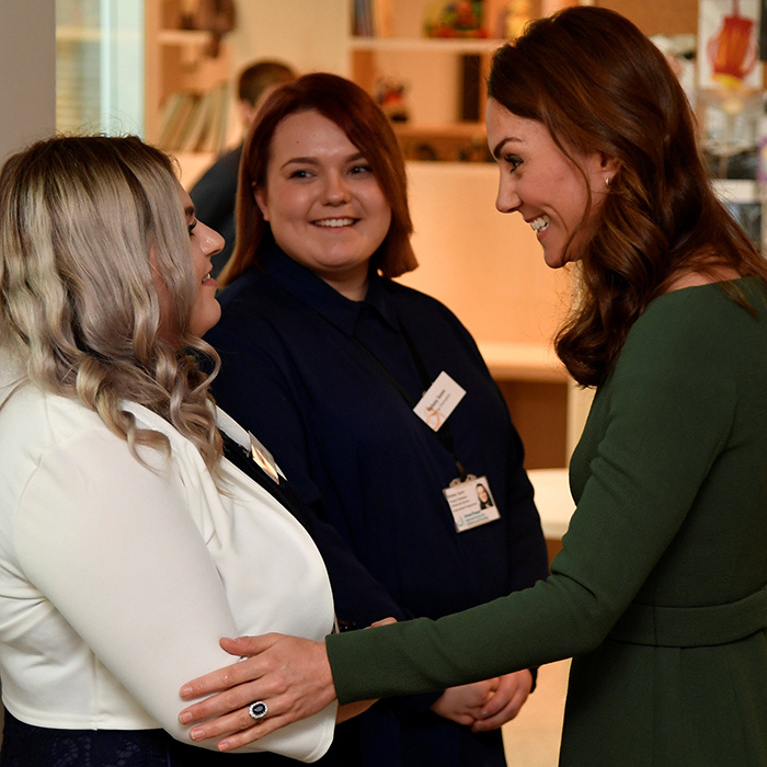 The 37-year-old also had the opportunity to meet <strong>Amy Herring</strong>, one of the centre's Young Champions. She shares the experiences of young people to experts at the centre to help them in their work.