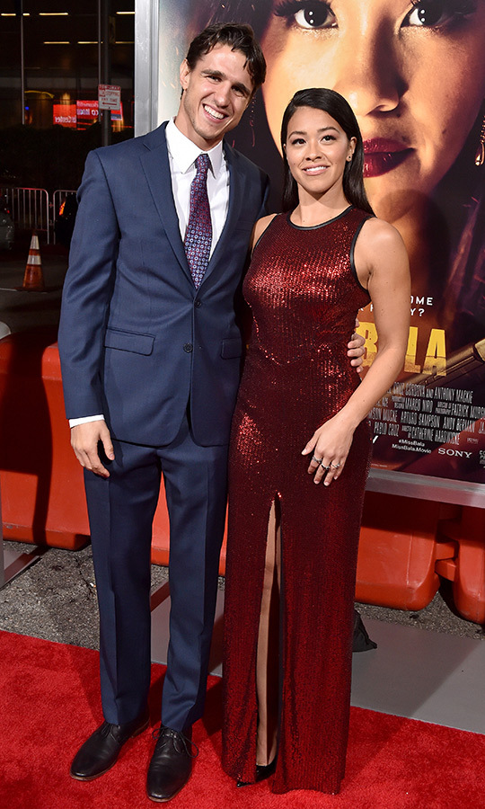 <h2>Gina Rodriguez and Joe Locicero</h2>