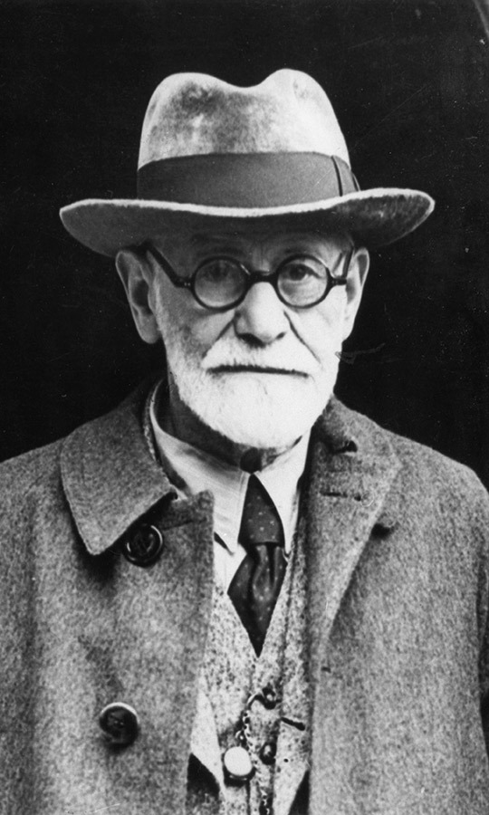 <h2>Sigmund Freud</h2>