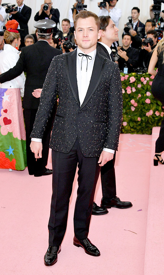 <strong>Taron Egerton</strong> in Ferragamo