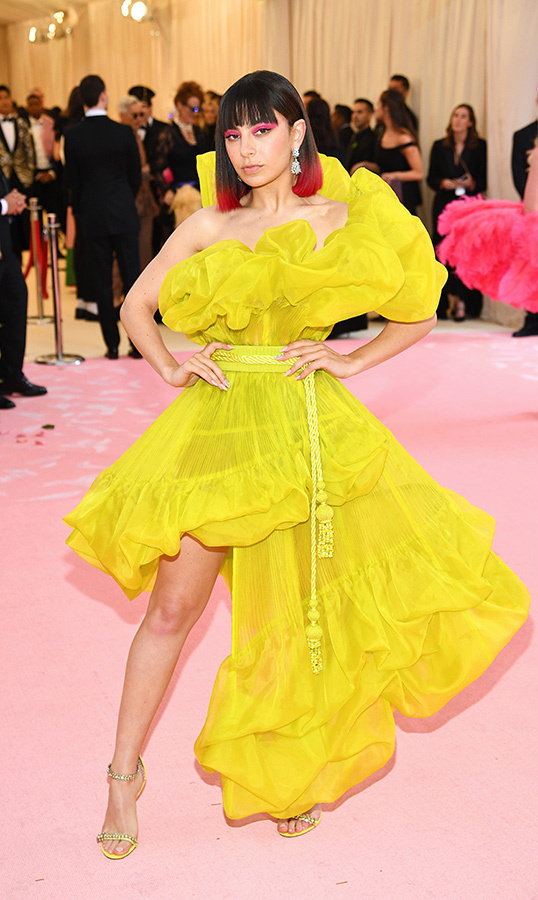 "<strong><a href=""/tags/0/charli-xcx"">Charli XCX</a></strong> in Jean Paul Gaultier