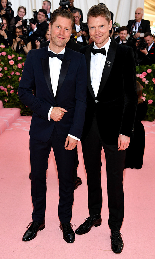 <strong>Christopher Bailey Woods</strong> and <strong>Simon Woods</strong>