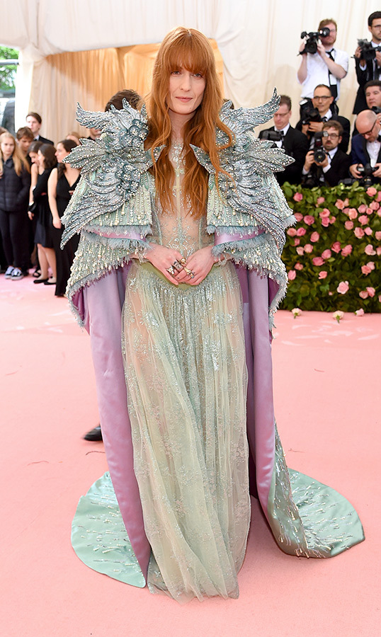 <strong>Florence Welch</strong> in Gucci