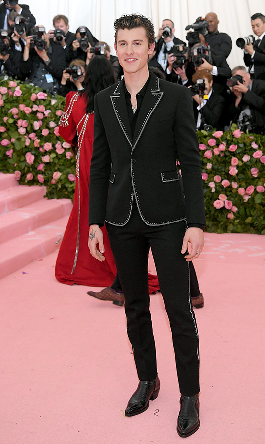 "<a href=""https://ca.hellomagazine.com/tags/0/shawn-mendes""><strong>Shawn Mendes</strong></a> in Saint Laurent