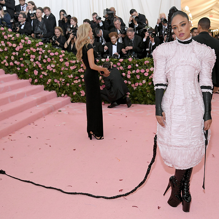 "<strong><a href=""/tags/0/tessa-thompson"">Tessa Thompson</a></strong> in Chanel