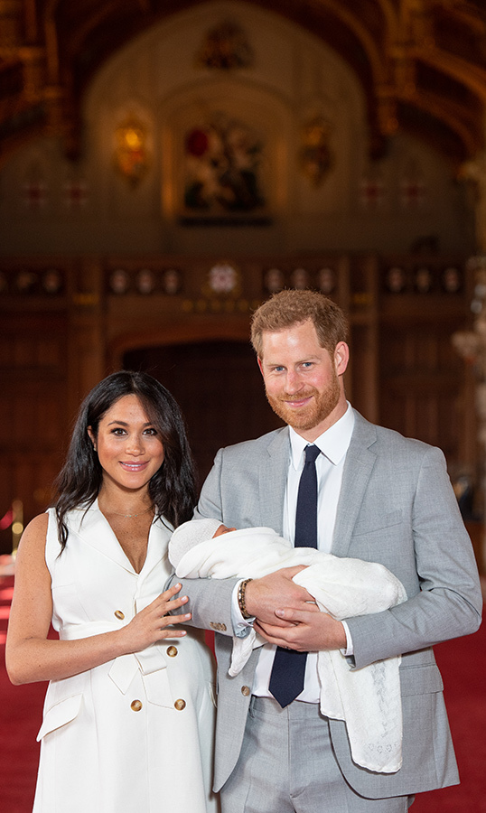 Meghan's beauty look was absolutely perfect for a new mom!